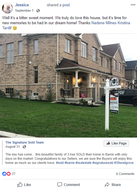 real estate facebook post ideas