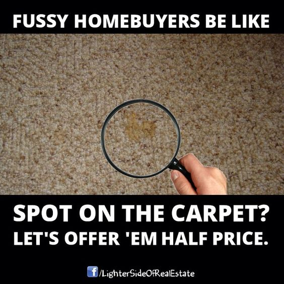 Real estate memes that mitigate customer expectations